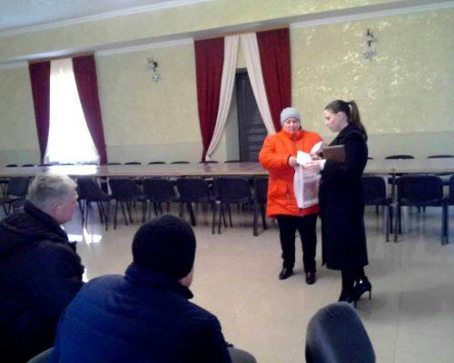 Мешканцям с. Озерянка надано консультацію щодо оформлення житлових субсидій