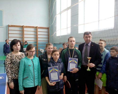 На базі Садківської ЗОШ пройшли змагання з тенісу