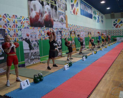 Відбувся Чемпіонат України з гирьового спорту серед юніорів і юніорок