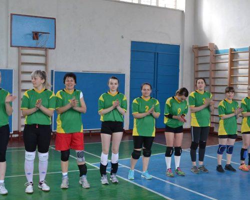 Відбулись змагання з волейболу серед жіночих команд Житомирської області
