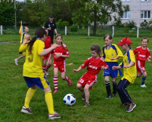 Нові футбольні старти школярок Житомирського району