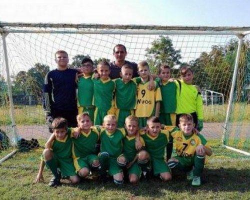 Відбулася остання гра другого кола Чемпіонату області з футболу «Дитяча ліга».
