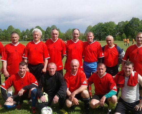 Відбулися фінальні змагання з футболу серед ветеранів