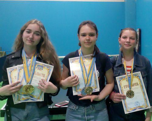 Вихованці ДЮСШ ЖРО ВФСТ «Колос» прийняли участь в Чемпіонаті області з тенісу настільного