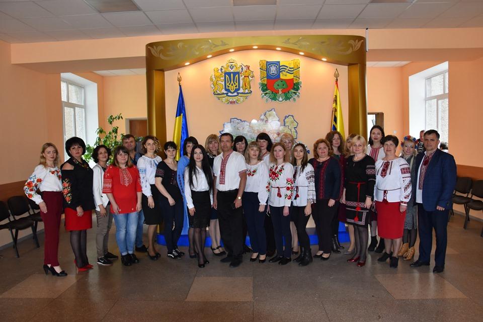 Житомирський район долучився до відзначення Дня вишиванки