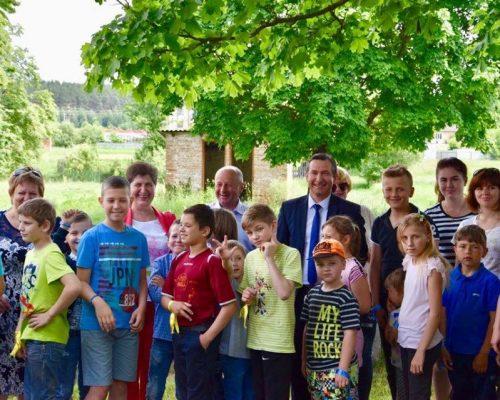У с. Кам'янка святкували День захисту дітей