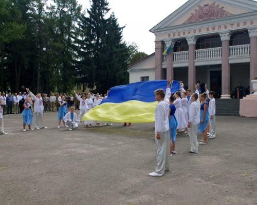 Відбулися районні заходи до Дня Державного Прапора та Дня незалежності України