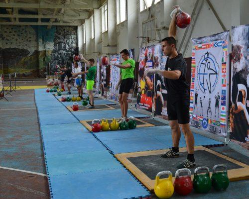 Відбувся Чемпіонат України з гирьового спорту серед дорослих та молоді