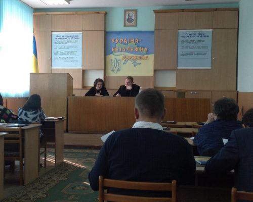 У районі презентовано проект щодо зміцнення потенціалу об'єднаних територіальних громад