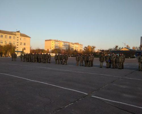 Микола Козарчук привітав військових