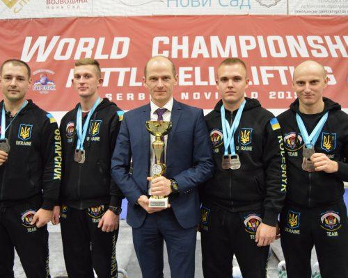 Відбувся чемпіонат світу з гирьового спорту серед дорослих та юніорів