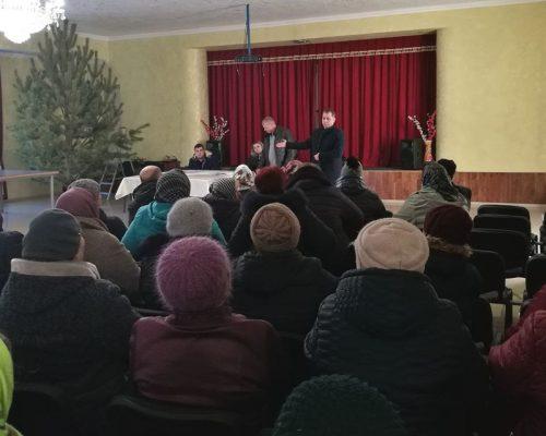 Юрій Оханський взяв участь у сході села Озерянка