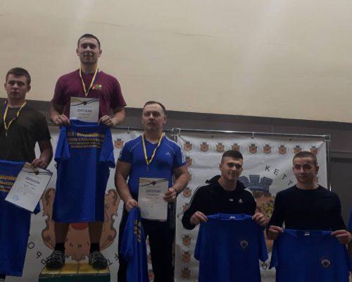 Пройшли Всеукраїнські змагання з гирьового спорту