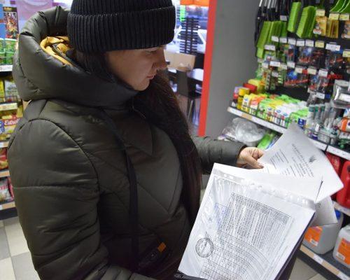 Здійснено черговий рейд для перевірки роботи АЗС на території Житомирського району