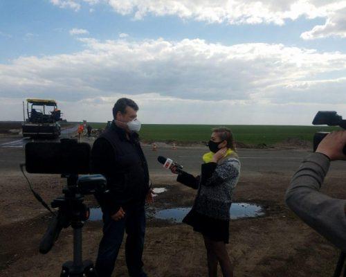 Велике будівництво: Віталій Бунечко перевірив хід капітального ремонту автомобільної дороги Попільня – Ружин