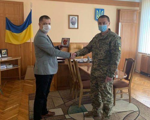 Юрій Оханський провів робочу зустріч з новопризначеним військовим комісаром