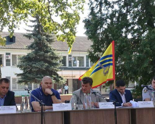 У Житомирському районі правоохоронці та голова Житомирської ОДА провели виїздну координаційну нараду з представниками трьох районів