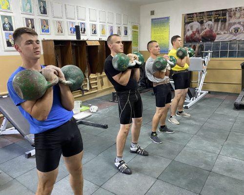 Відбувся відкритий чемпіонат Житомирської районної організації ВФСТ «Колос» з гирьового спорту