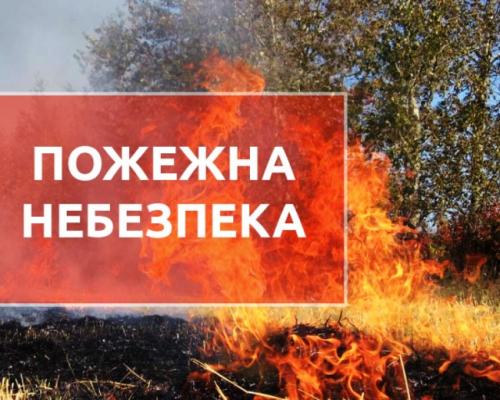 ДСНС закликає громадян дотримуватися правил безпеки в екосистемах під час пожежонебезпечного періоду!