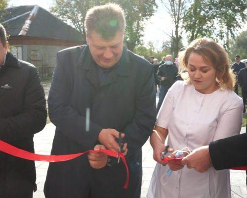 Велике будівництво на Житомирщині: Робимо медицину доступною для кожного, – Віталій Бунечко на відкритті амбулаторії