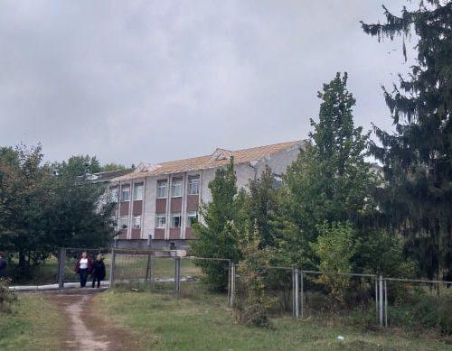 У Левківській школі тривають ремонти даху та їдальні