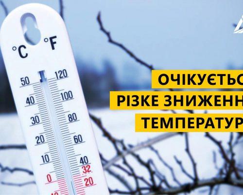Шановні жителі району, водії, будьте напоготові: одразу два циклони зроблять погоду по-справжньому зимовою