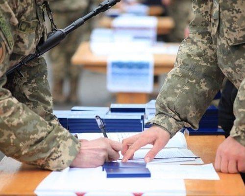 Покрокова схема дій для громадян, які виявили бажання проходити військову службу за контрактом