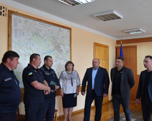 Юрій Денисовець привітав з призначенням на нову посаду головного рятувальника району