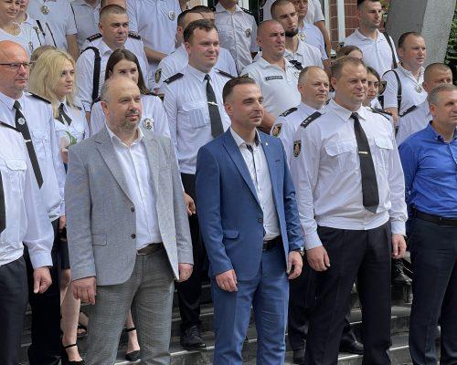 Юрій Денисовець привітав працівників поліції з прийдешнім професійним святом