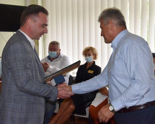 З нагоди 30-ї річниці Незалежності України очільник району відзначив працівників медицини