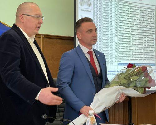 Юрій Денисовець взяв участь у роботі сесії Житомирської районної ради